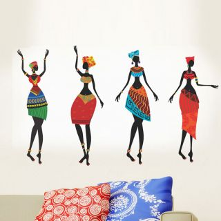 Colorful African Women