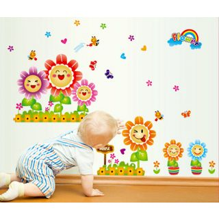 Wall Stickers Wall Decals Flowers Removable